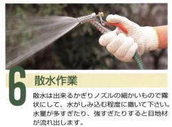 6.散水作業